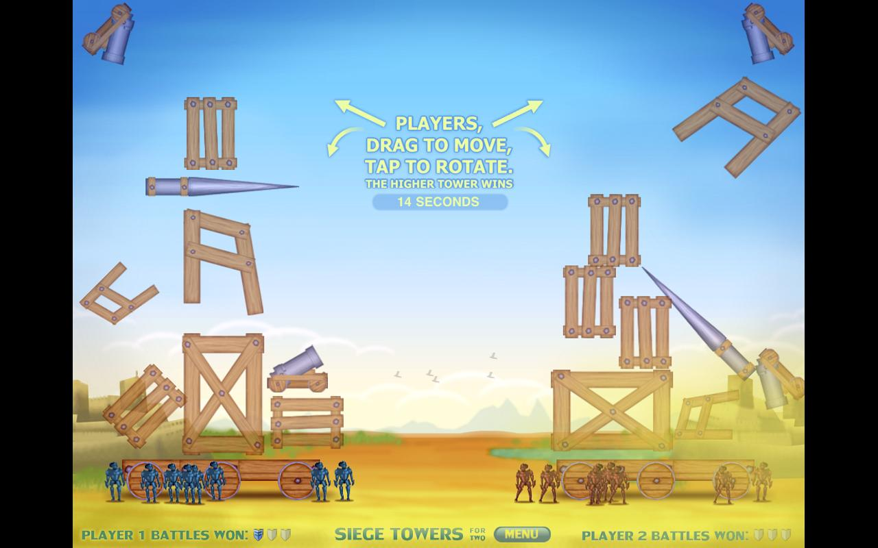 Siege Towers For Two- screenshot