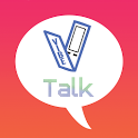 V Talk icon
