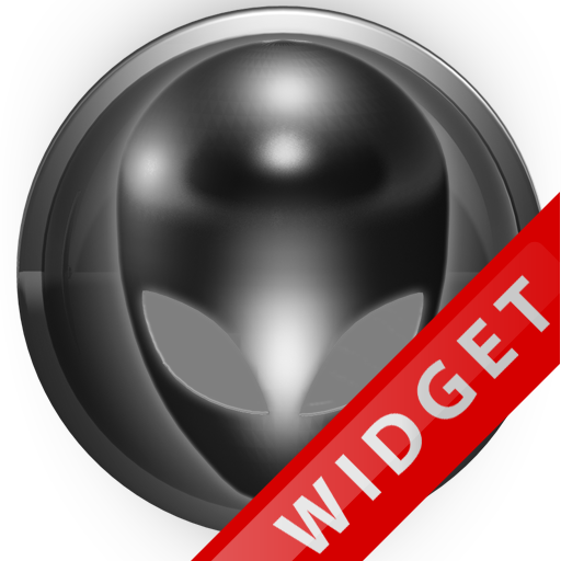 Poweramp Widget Grey Alien