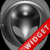 Poweramp Widget Grey Alien