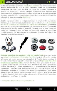Les Numériques- screenshot thumbnail