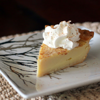 Buttermilk Pie Recipe with Nutmeg and Vanilla