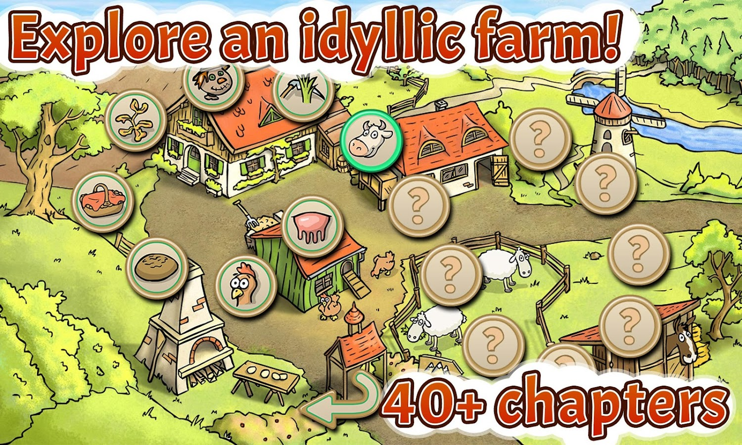 farm animals game for kids farm friends free android apps on