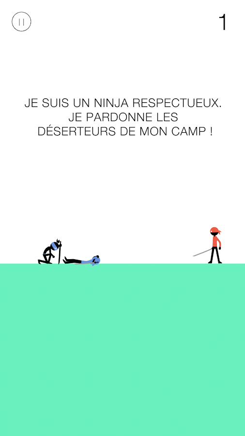 Amazing Ninja – Capture d'écran