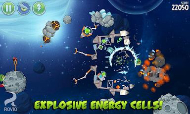 Angry Birds Space HD Screenshot 8