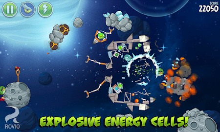 Angry Birds Space HD Screenshot 19