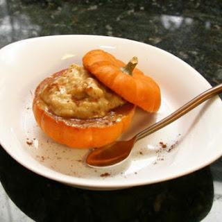 Baked Spiced Mini Pumpkins