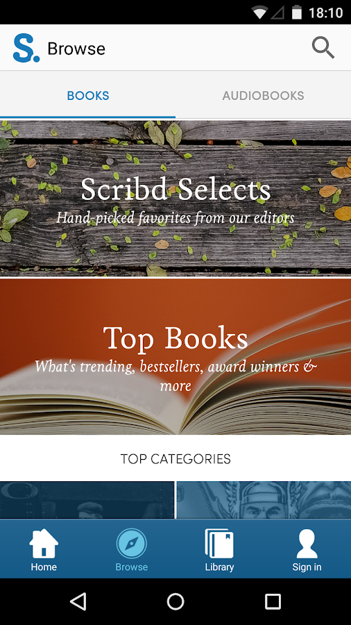 Scribd - Read Unlimited Books - screenshot