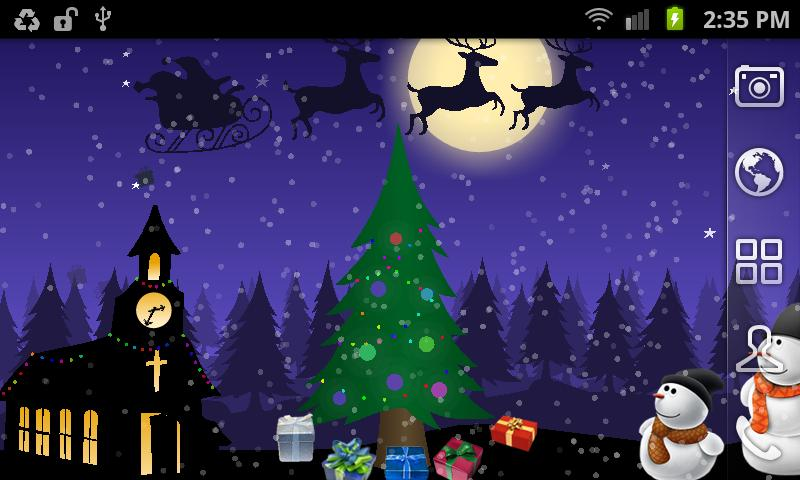 Christmas Moving World Free - screenshot