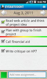 Everstudent Student Planner Screenshot 1