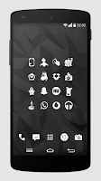 Screenshot of Whicons - White Icon Pack