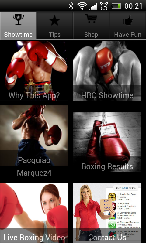 Boxing Day Schedule+How to Box - screenshot