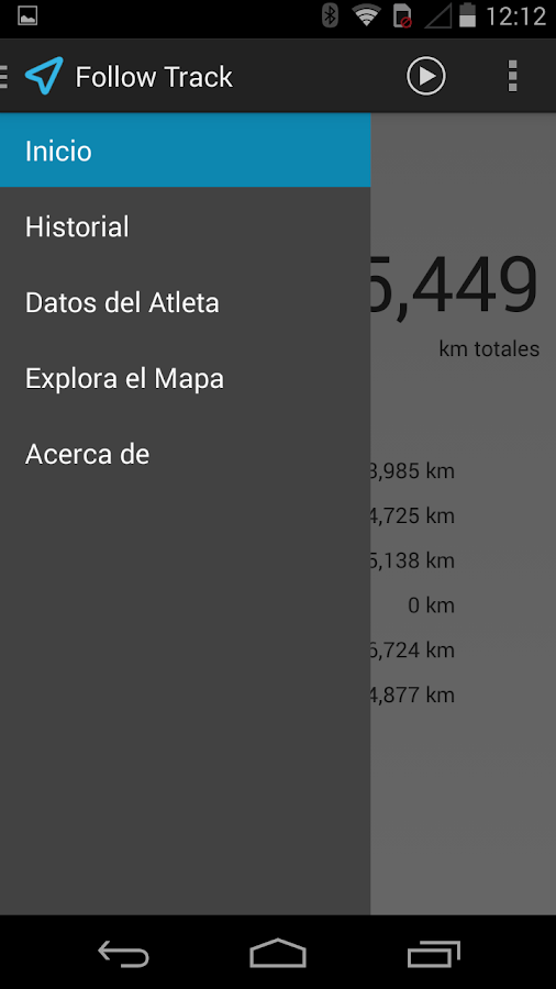 GPS Follow Track- screenshot