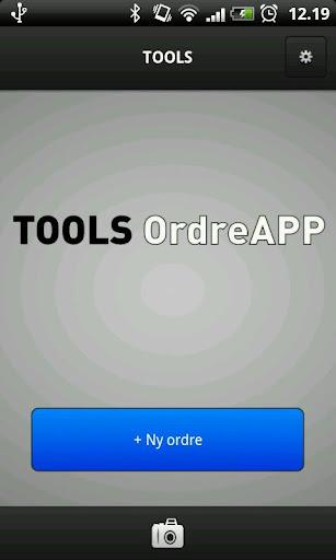 TOOLS OrdreApp