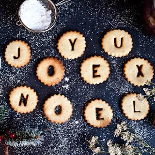 Christmas Cookies with Vanilla & Cardamom.