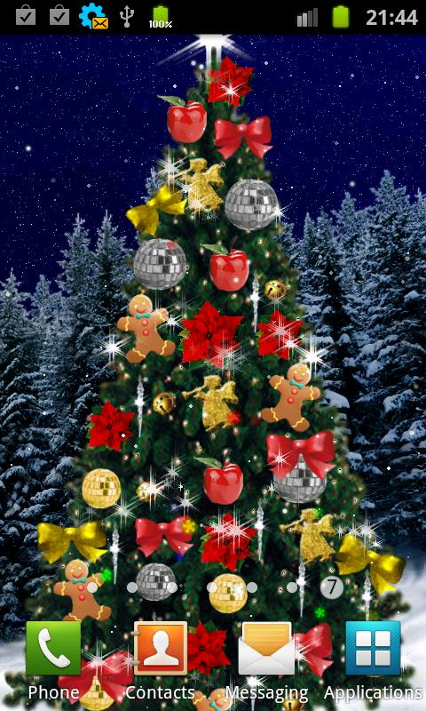 Christmas tree live wallpaper android apps on google play for Decor live beautiful app