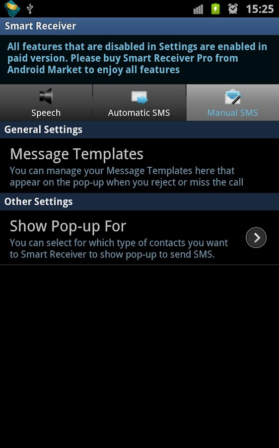 Smart Receiver (Free) - screenshot