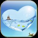 Heart aquarium icon