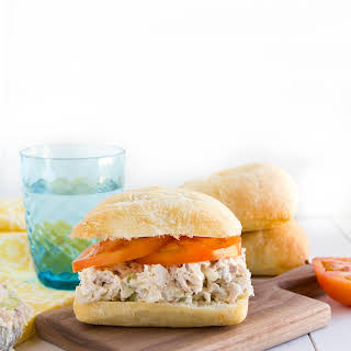 Classic Chicken Salad Sandwich.