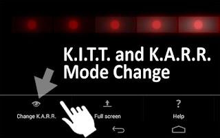 Screenshot of KITT Scanner