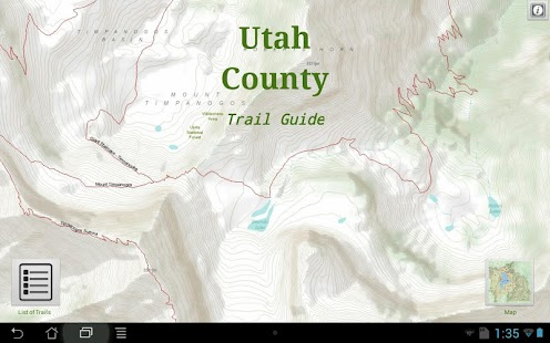 Utah County Trail Guide- screenshot thumbnail