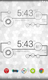 Minimal - Zooper Widget Pro Screenshot 5