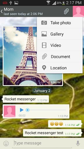 Rocket Messenger