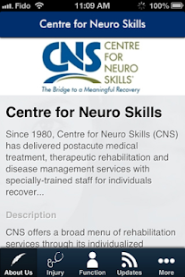 CNS Mobile- screenshot thumbnail