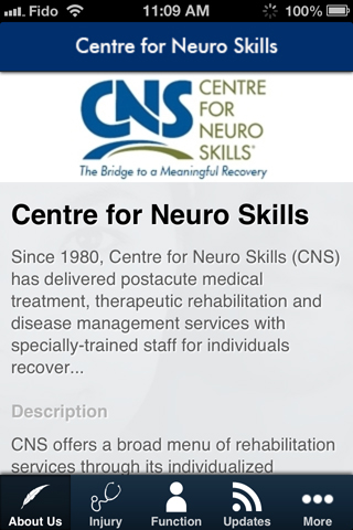 CNS Mobile- screenshot