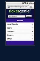 Screenshot of My Darkest Days Tickets