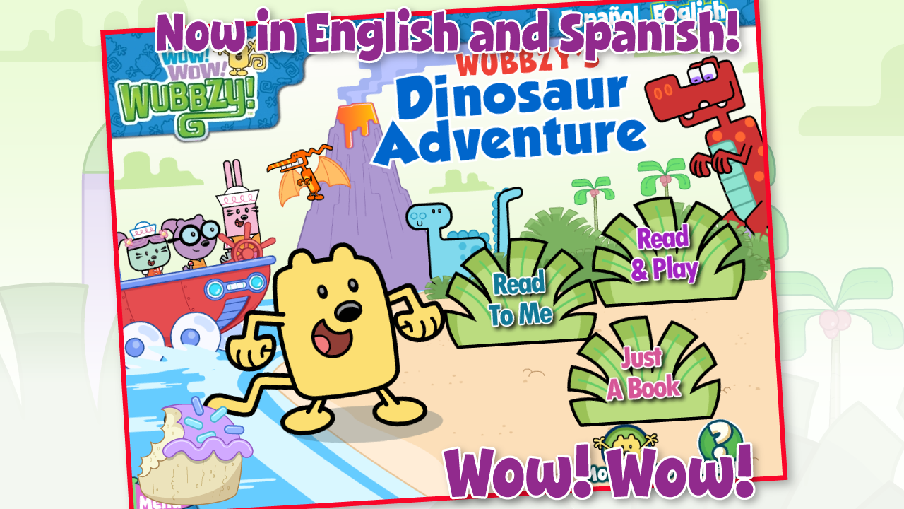 Wubbzy's Dinosaur Adventure - screenshot