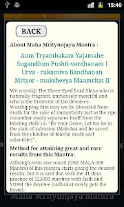 Maha Mrityunjaya Mantra screenshot 5