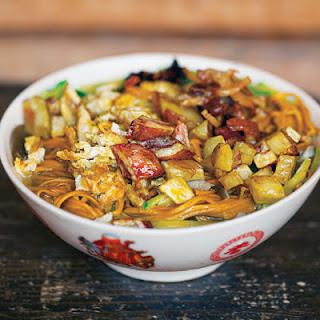 Mo Gu Miantiao Tang (Mushroom Noodle Soup).