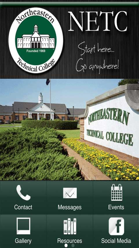 Northeastern Technical College- screenshot