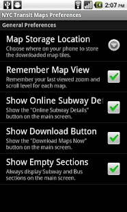 NYC Bus & Subway Maps- screenshot thumbnail