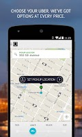 Screenshot of Uber