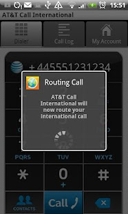 AT&T Call International - screenshot thumbnail