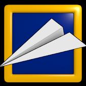 Falling Paper Plane