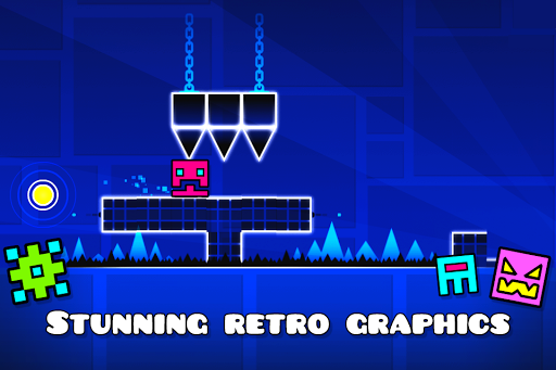 (APK) تحميل لالروبوت / PC Geometry Dash Lite ألعاب screenshot