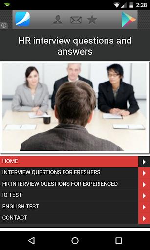 H.R Interview