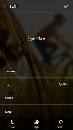 Font style 2 For Locker Master