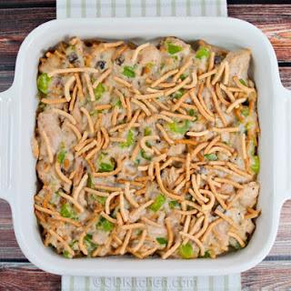 Baked Tuna Chow Mein Casserole