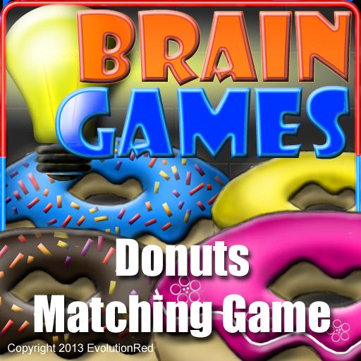 Donuts Matching Game LOGO-APP點子