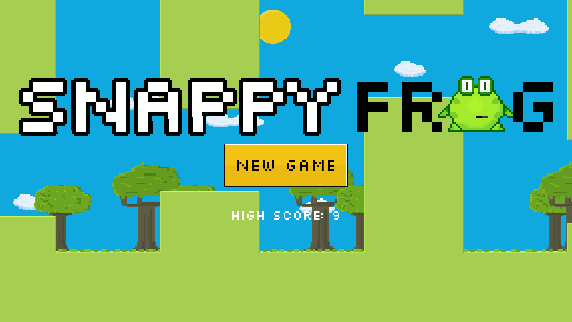 Snappy Frog - screenshot