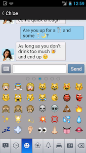 chomp SMS emoji add-on - screenshot thumbnail