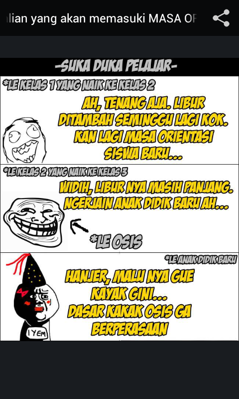 Meme Comic Indonesia - screenshot