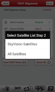 VSAT PRO Satellite Dish Finder - screenshot thumbnail