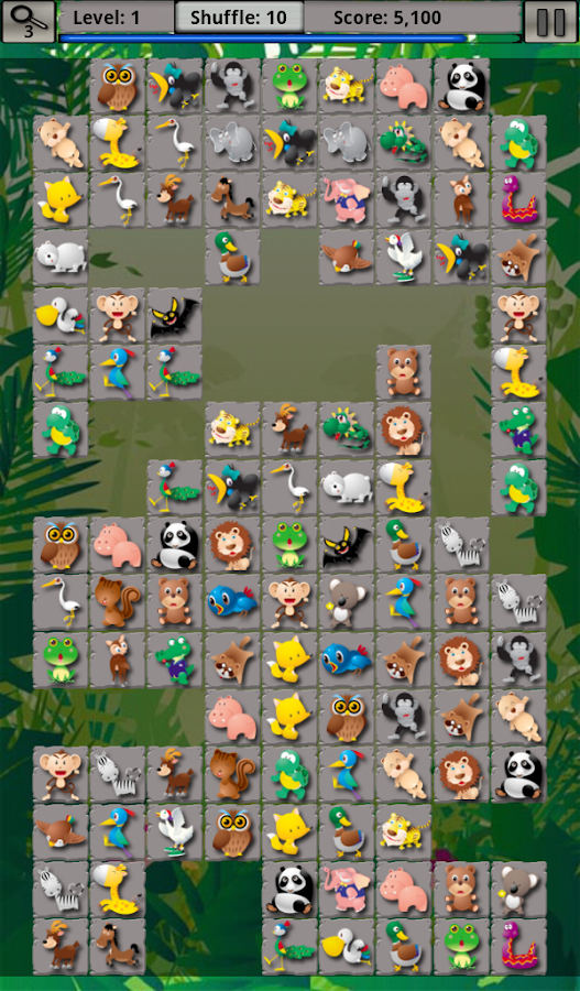 Match Mania 2: The Jungle - screenshot