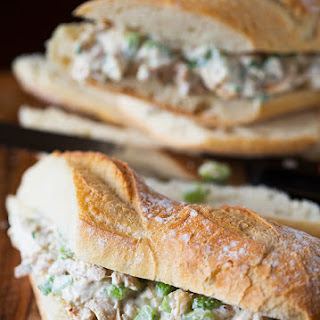 Lightened Up Chicken Salad Sandwich.
