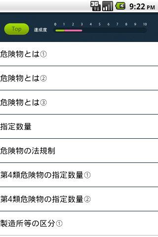 パブロフ危険物乙4類- screenshot